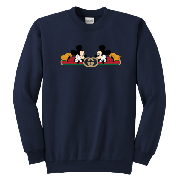 Gucci Mickey Mouse Limited Edition Youth Crewneck Sweatshirt