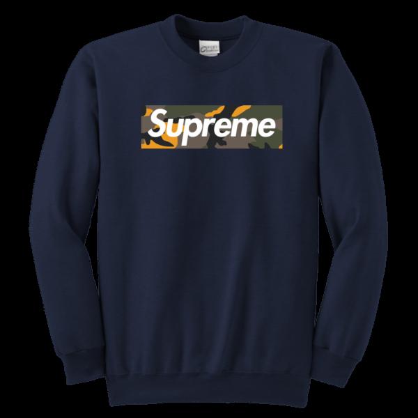 Supreme Brooklyn Logo Youth Crewneck Sweatshirt
