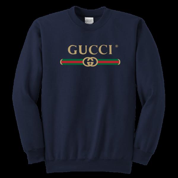 Gucci Logo 2021 Premium Youth Crewneck Sweatshirt