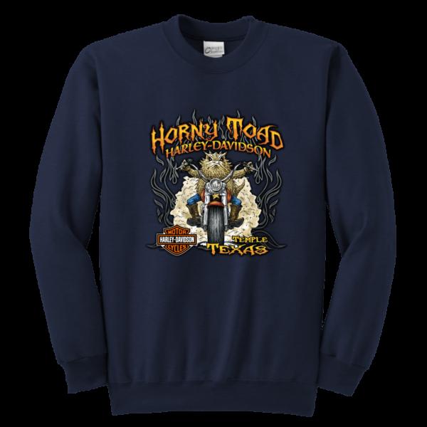 Horny Toad Harley Davidson Youth Crewneck Sweatshirt