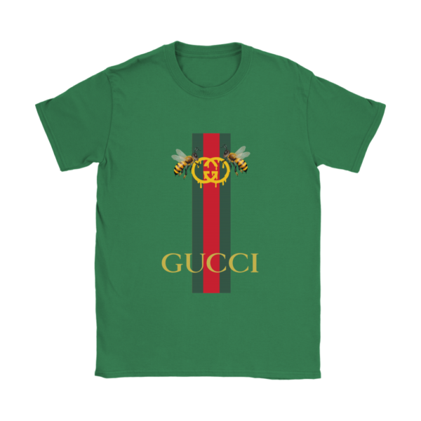 Gucci Bee Logo Drip Womens T-Shirt