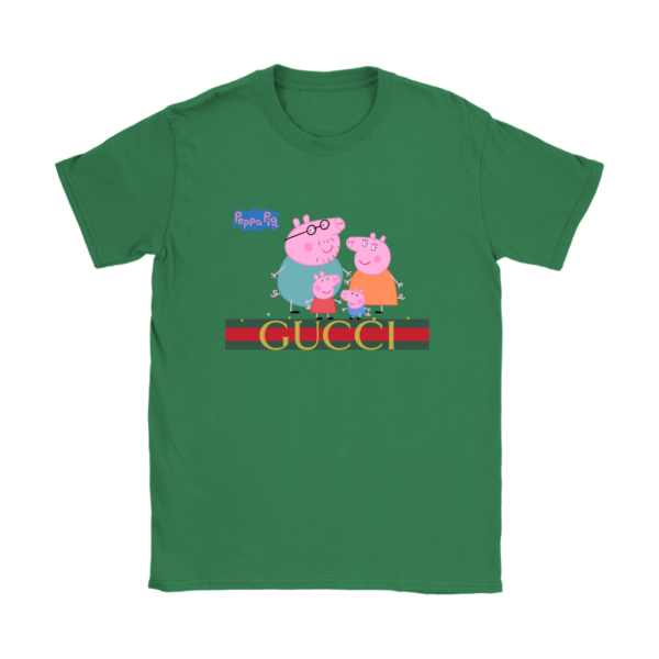 Peppa Pig Gucci Limited Womens T-Shirt