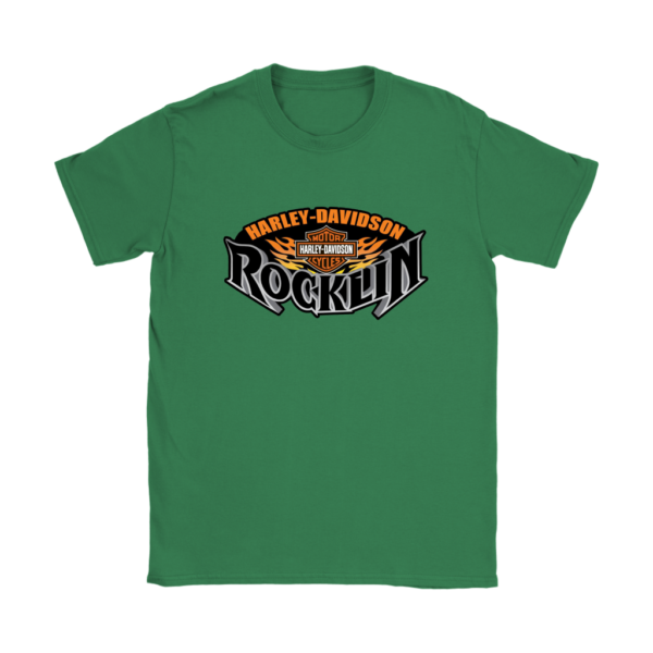 Harley Davidson Of Rocklin Womens T-Shirt