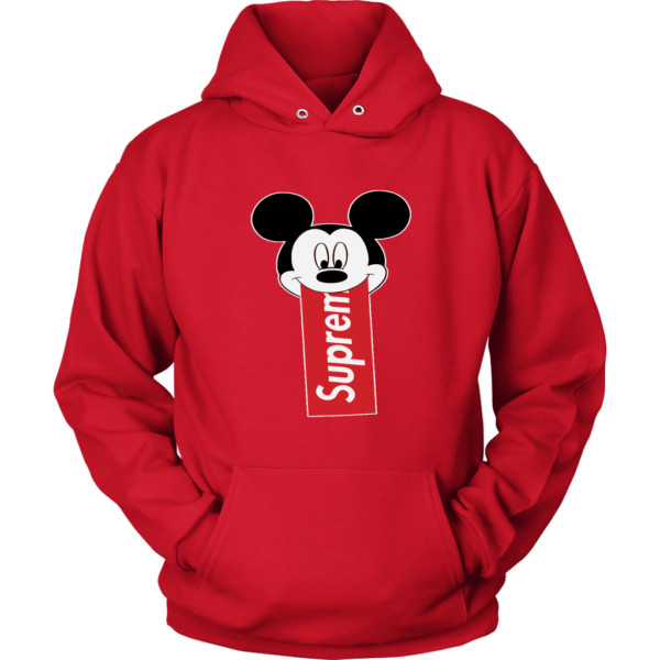 Supreme Mickey Mouse Disney Unisex Hoodie