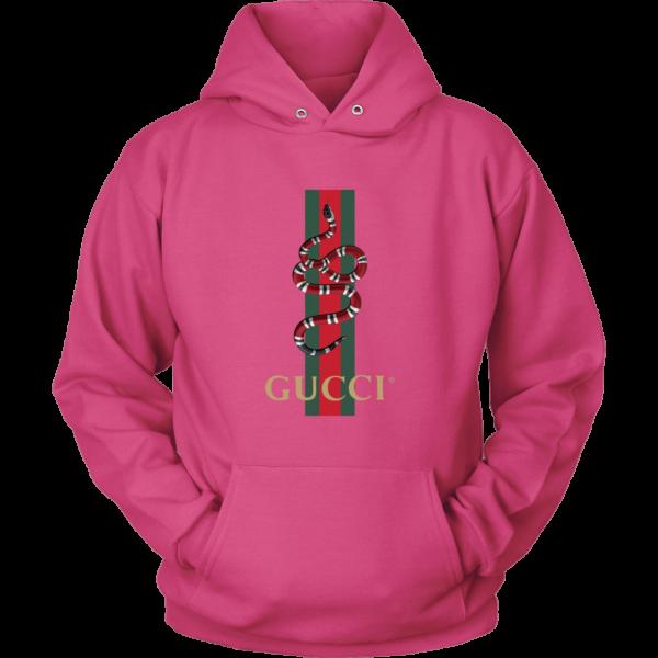 Gucci Snake Logo Unisex Hoodie
