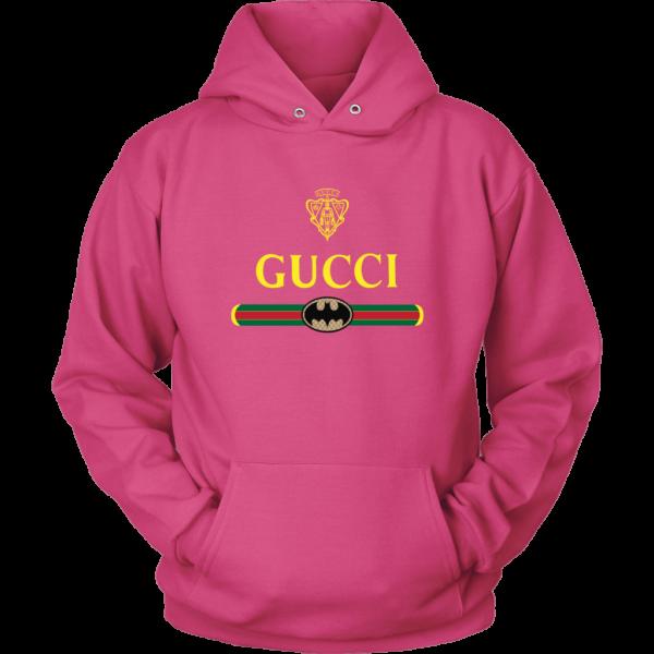 Gucci Logo With Batman Unisex Hoodie