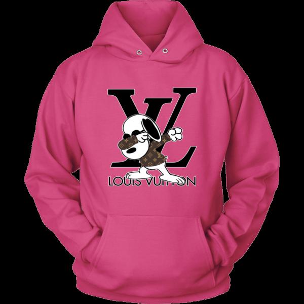 Snoopy Louis Vuitton Logo Unisex Hoodie