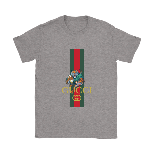 Gucci Tiger Rugby Logo Premium Womens T-Shirt