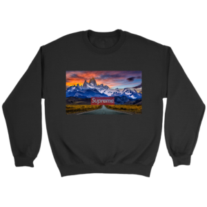 Supreme Patagonia Mountains Crewneck Sweatshirt