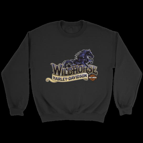 Wildhorse Harley Davidson Logo Crewneck Sweatshirt