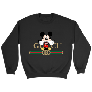 Gucci Logo Mickey Mouse Clubhouse Disney Crewneck Sweatshirt