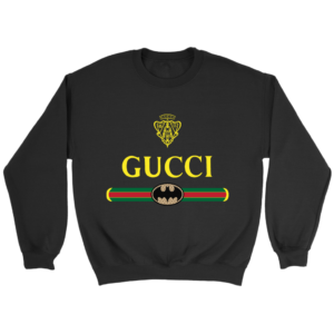 Gucci Logo With Batman Crewneck Sweatshirt