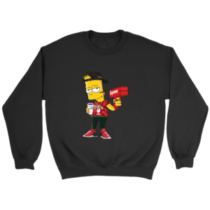 Bart Simpson Gucci Limited Edition Crewneck Sweatshirt
