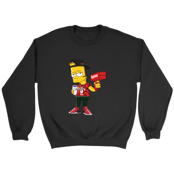 Bart Simpson Gucci Limited Edition Crewneck Sweatshirt