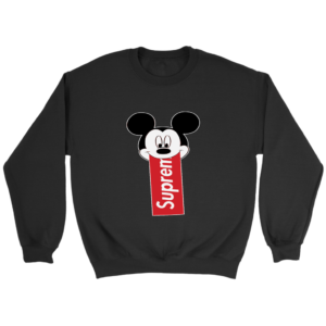 Supreme Mickey Mouse Disney Crewneck Sweatshirt