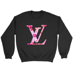 Louis Vuitton Love Logo Crewneck Sweatshirt