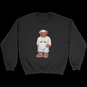 LIFE'S GUCCI BEAR Crewneck Sweatshirt