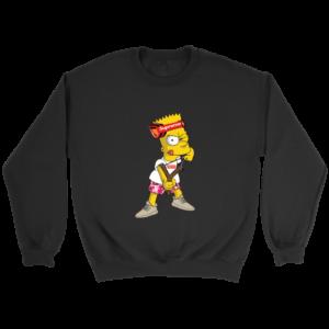 Bart Simpson Gucci Supreme Crewneck Sweatshirt
