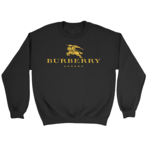Burberry Gold Edition Logo Crewneck Sweatshirt