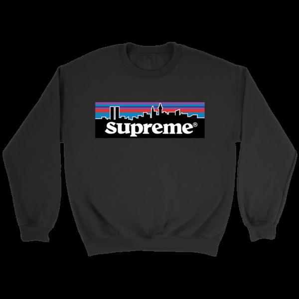 Supreme Patagonia Logo Crewneck Sweatshirt