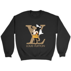 Minnie Mouse Louis Vuitton Edition Crewneck Sweatshirt
