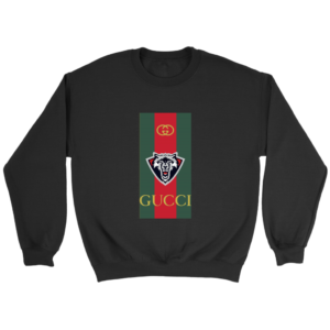 Gucci Wolf Printed Logo Limited Edition Crewneck Sweatshirt