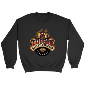 Harley Davidson Of Tucson Crewneck Sweatshirt