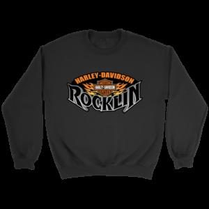 Harley Davidson Of Rocklin Crewneck Sweatshirt