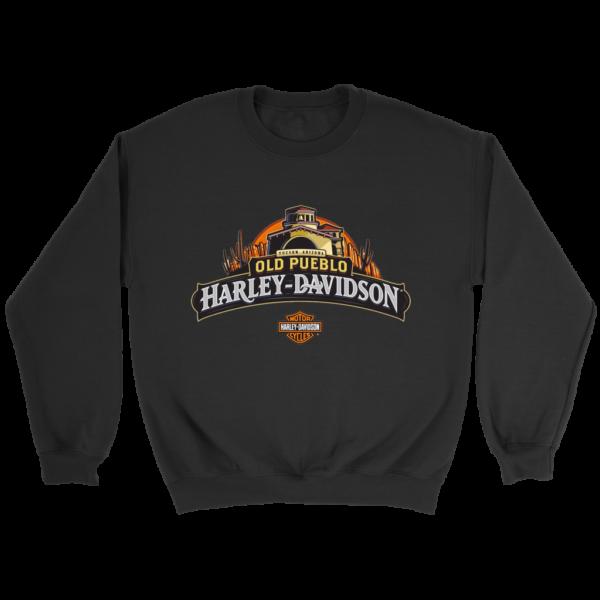Old Pueblo Harley Davidson Crewneck Sweatshirt