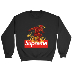 The FLASH Supreme Crewneck Sweatshirt