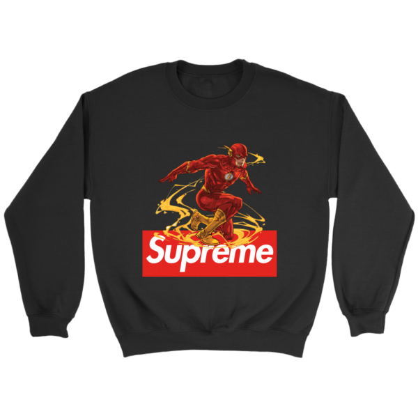 The FLASH Supreme Crewneck Sweatshirt