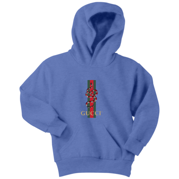 Gucci Snake Logo Youth Hoodie