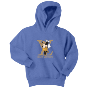 Minnie Mouse Louis Vuitton Edition Youth Hoodie