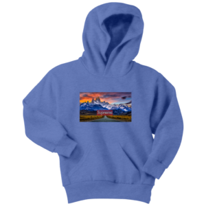 Supreme Patagonia Mountains Youth Hoodie