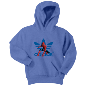 Spiderman Adidas Marvel Logo Youth Hoodie