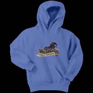 Wildhorse Harley Davidson Logo Youth Hoodie