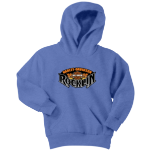 Harley Davidson Of Rocklin Youth Hoodie