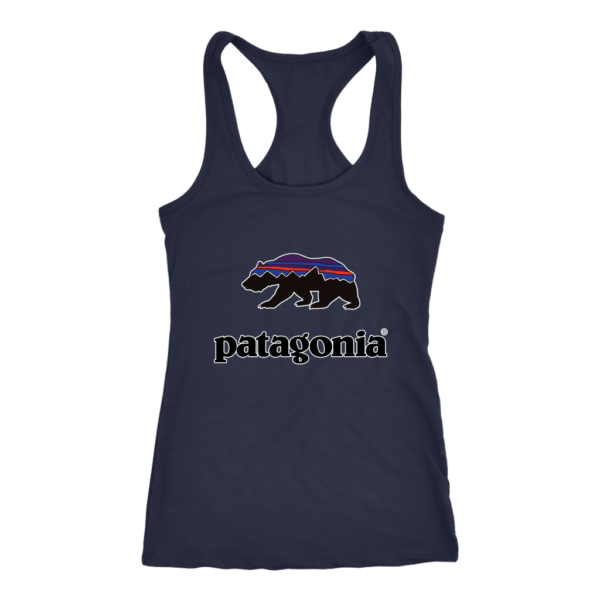 Patagonia Fitz Roy Bear Womens Tank Top