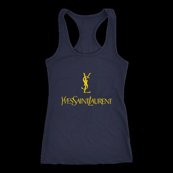 YSL Yves Saint Laurent Logo Women's Tank Top