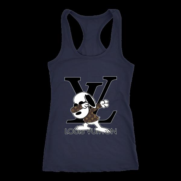 Snoopy Louis Vuitton Logo Women's Tank Top