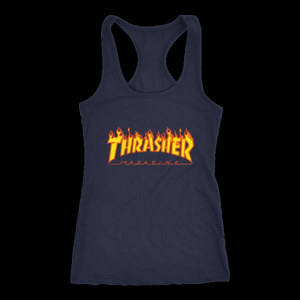 Thrasher Flame Logo Women's Tank Top
