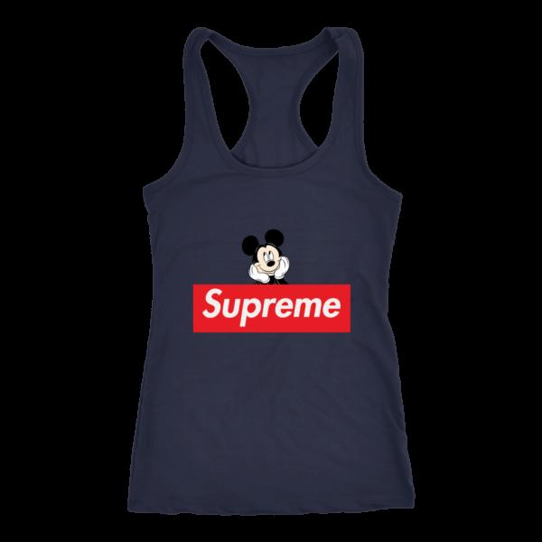 Supreme Mickey Mouse Logo Premium Women's Tank Top