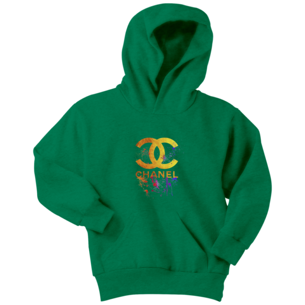 CoCo Chanel Gold Logo Limited Edition Youth Hoodie