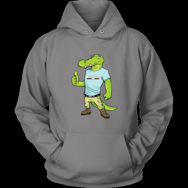 Crocodile Gucci Alligator Printed Unisex Hoodie