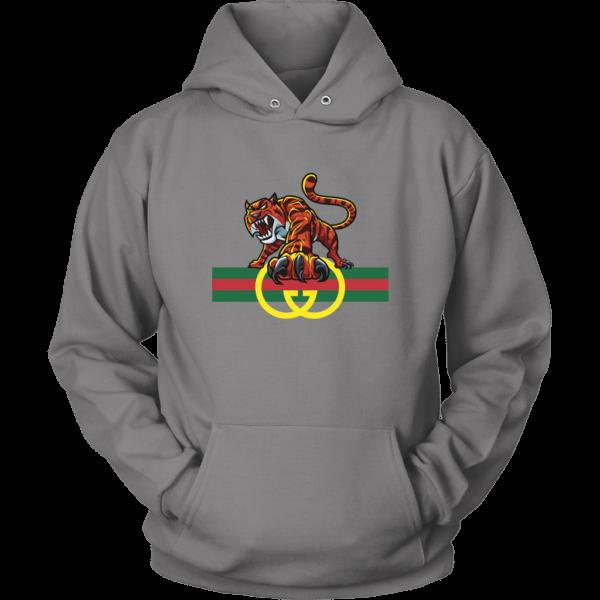 Tiger Gucci Logo Unisex Hoodie