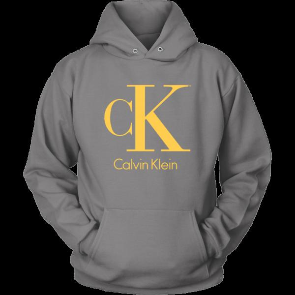 Calvin Klein Gold Logo Premium Unisex Hoodie