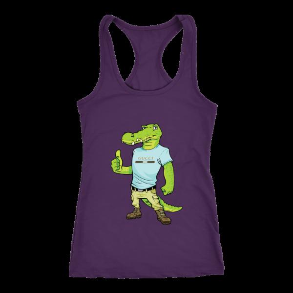 Crocodile Gucci Alligator Printed Women's Tank Top