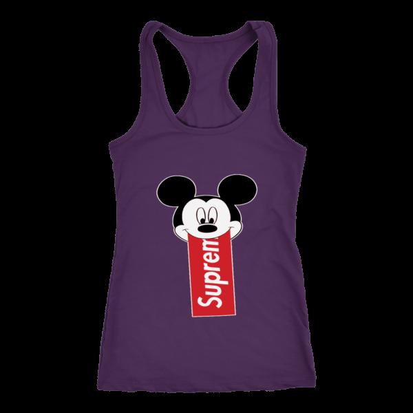 Supreme Mickey Mouse Disney Women's Tank Top