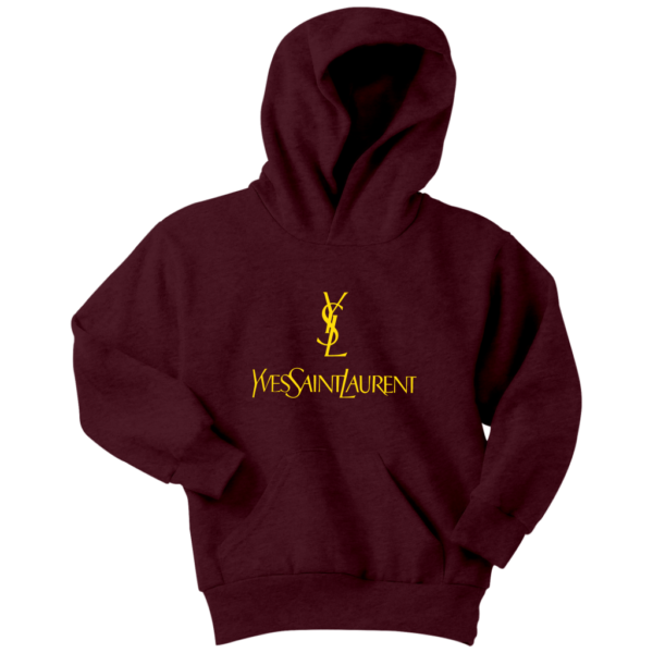 YSL Yves Saint Laurent Logo Youth Hoodie
