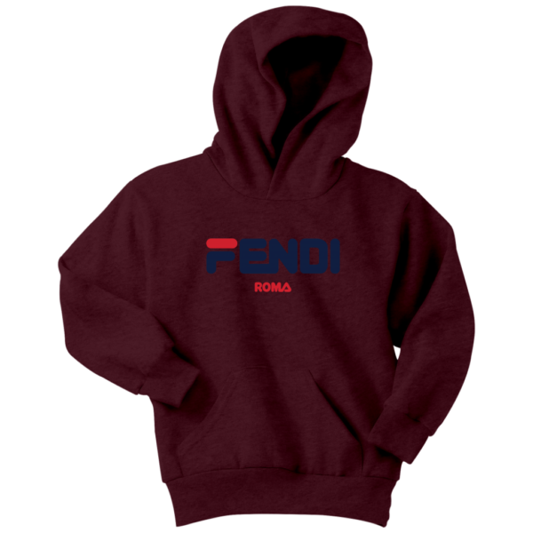 Fendi Logo Youth Hoodie